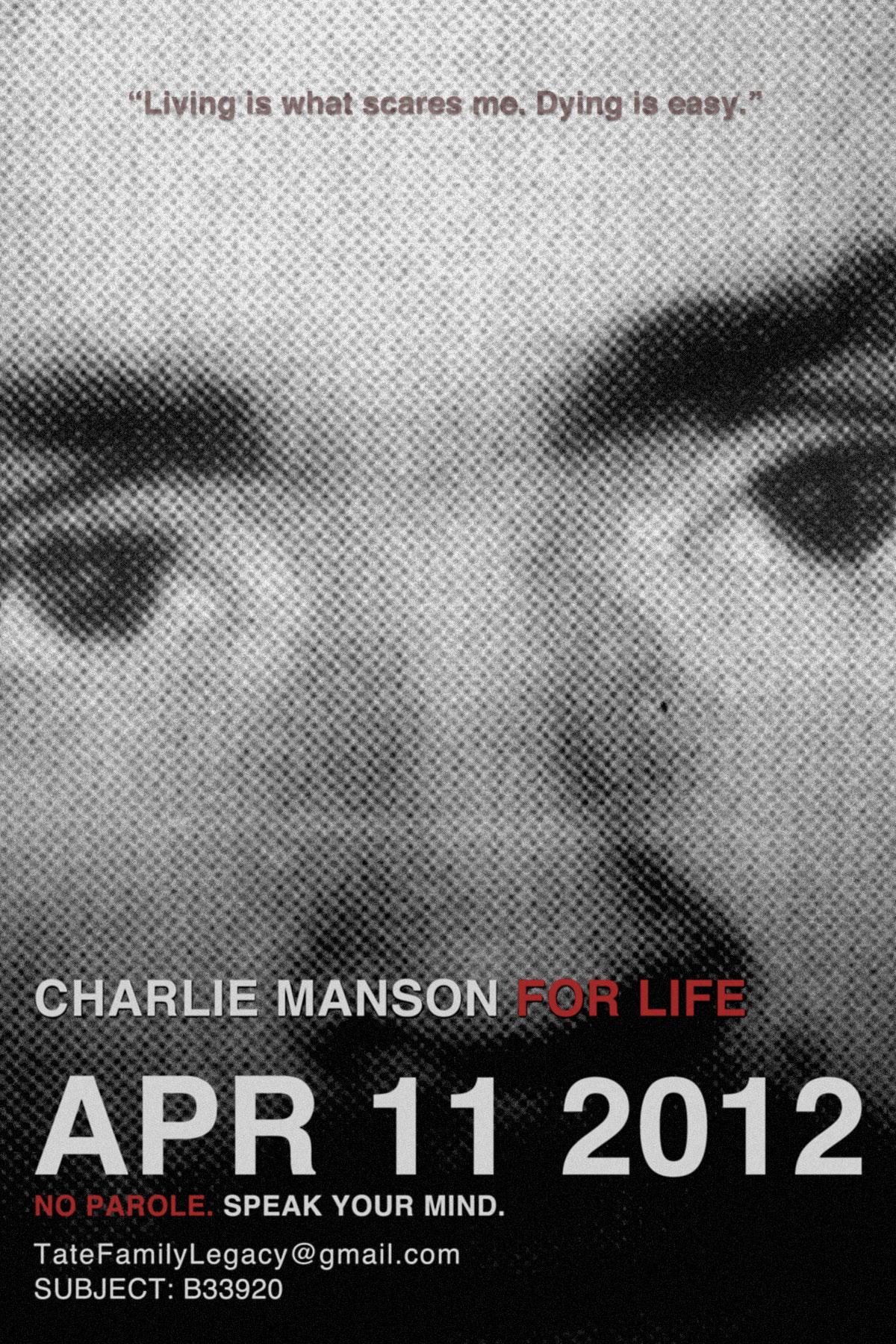 Charlie Manson parole PSA