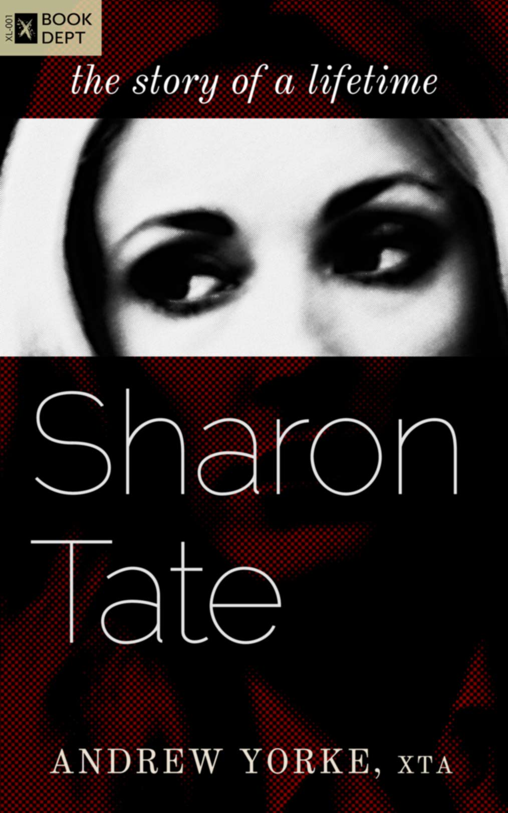 cover of Sharon Tate; written by Andrew Yorke; edited by Jonathan Fischer