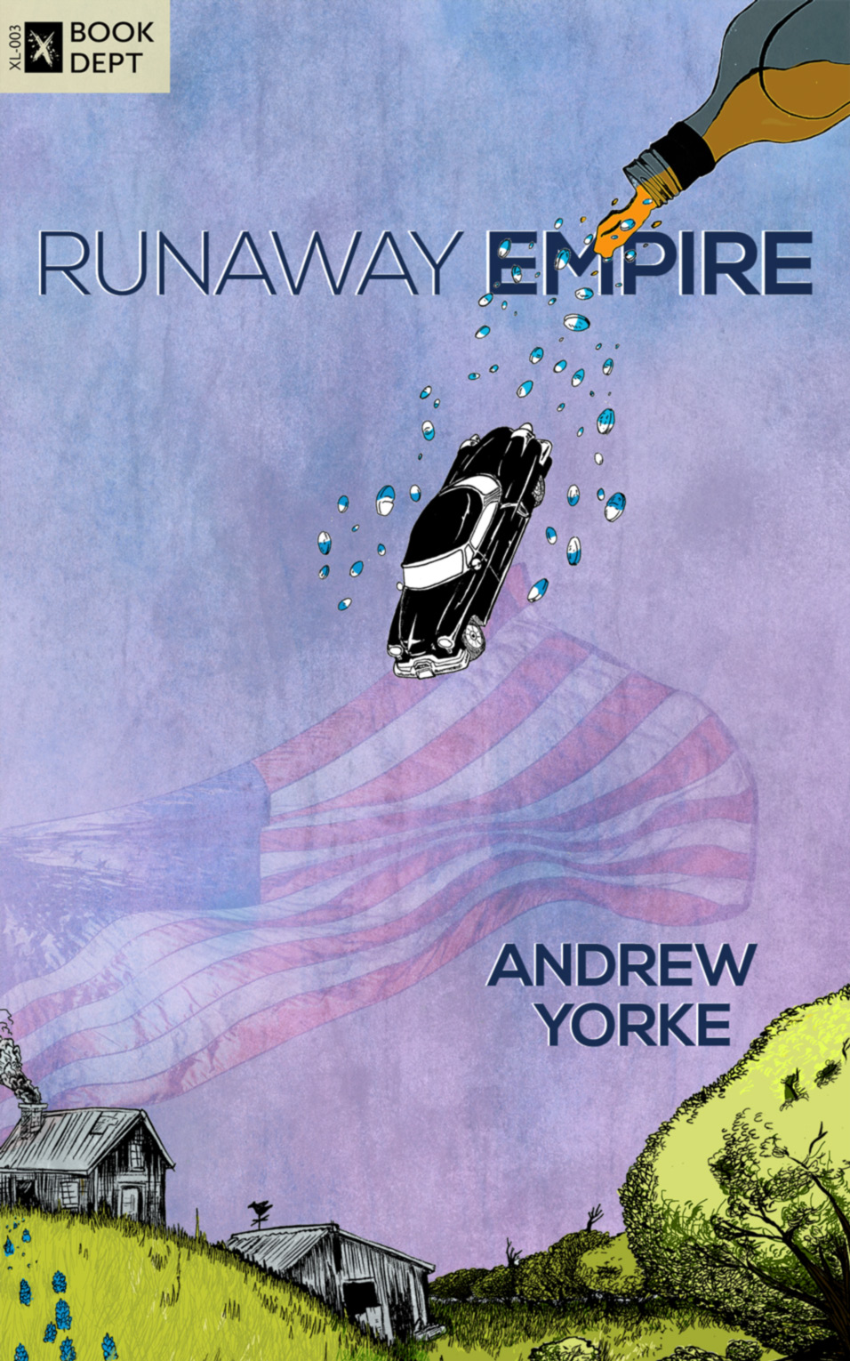 Runaway Empire; by Andrew Yorke, Jonathan Fischer; published by Book Dept, Xteamartists
